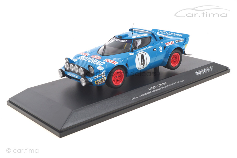 Lancia Stratos Winner Rallye Monte Carlo 1979 Darniche/Mahé Minichamps 1:18 155791704