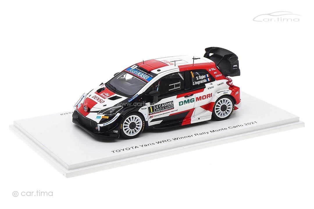 Toyota Yaris WRC Winner Rallye Monte Carlo 2021 Ogier/Ingrassia Spark 1:43 S6582