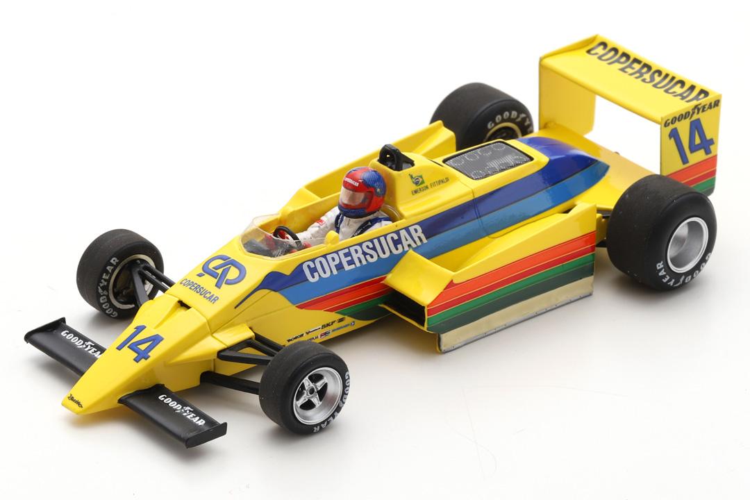 Copersucar F6 GP Südafrika 1979 Emerson Fittipaldi Spark 1:43 S3936