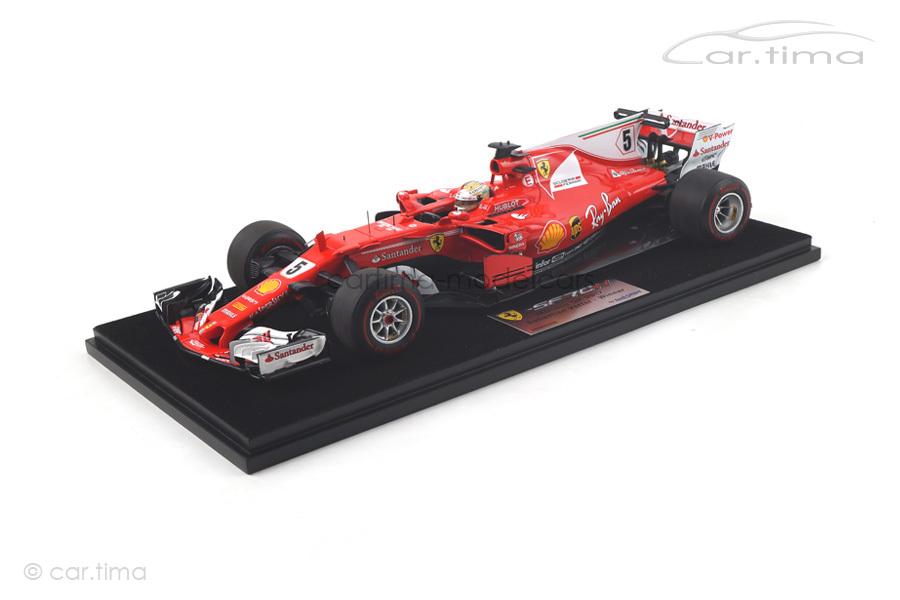 Ferrari SF70-H Winner GP Monaco 2017 Sebastian Vettel LookSmart 1:18 LS18F109