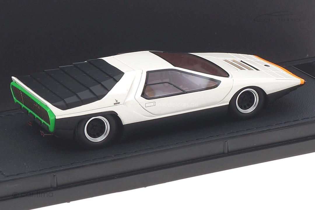 Alfa Romeo Carabo 1968 weiß Top Marques 1:43 TM43-13B