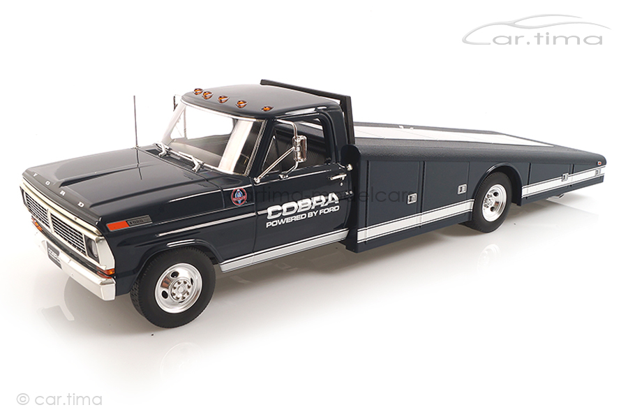 Ford F-350 Ramp Truck Shelby Cobra ACME 1:18 A1801405