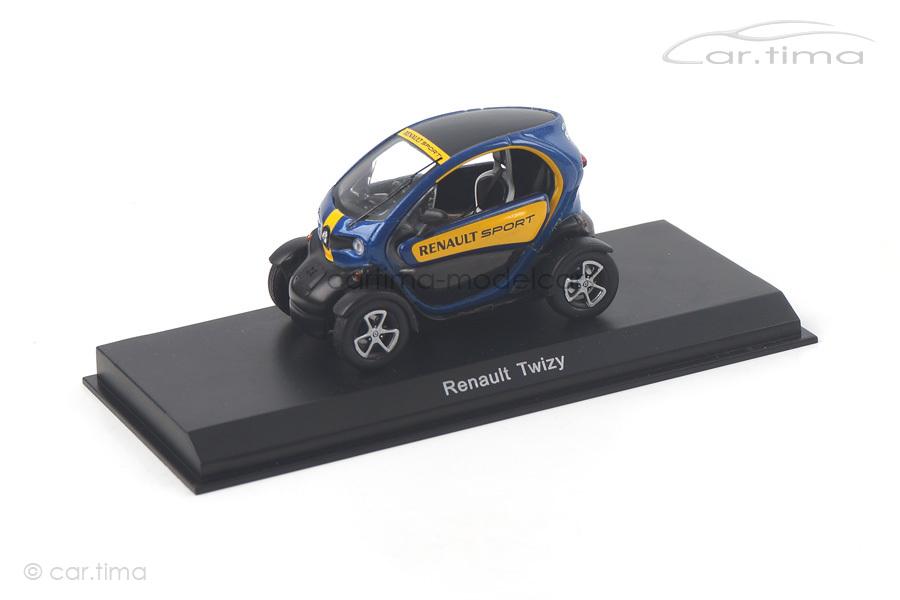 Renault Twizy blau Spark 1:43 SDC002