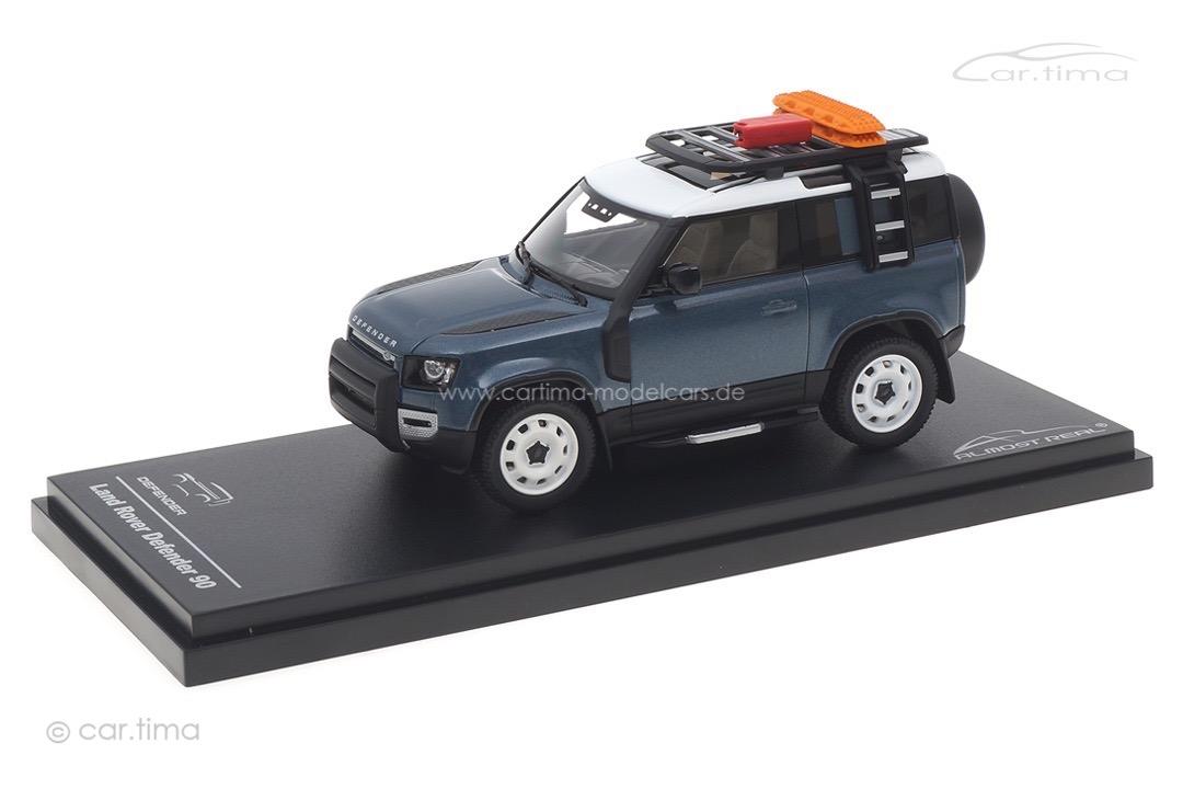 Land Rover Defender 90 2020 Tasman Blue Almost Real 1:43 410702