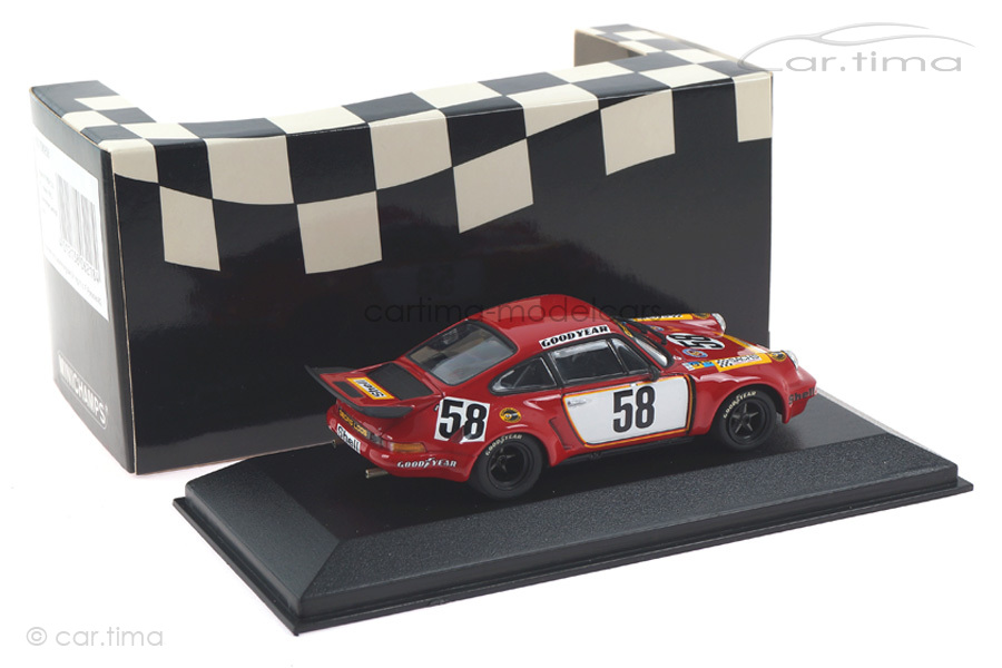 Porsche 911 RSR 3,0 24h Le Mans 1975 Fitzpatrick/v. Lennep Minichamps 1:43 430756958