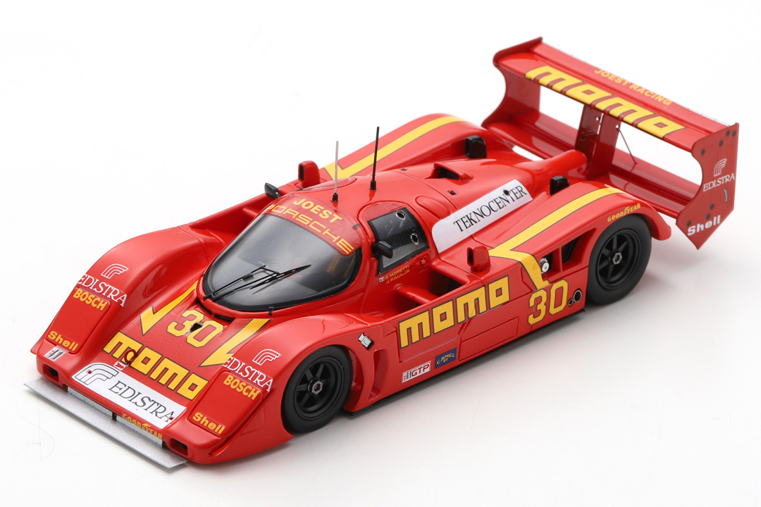 Porsche 962 C 2h Road America 1992 Moretti/Paul Jr. Spark 1:43 US104