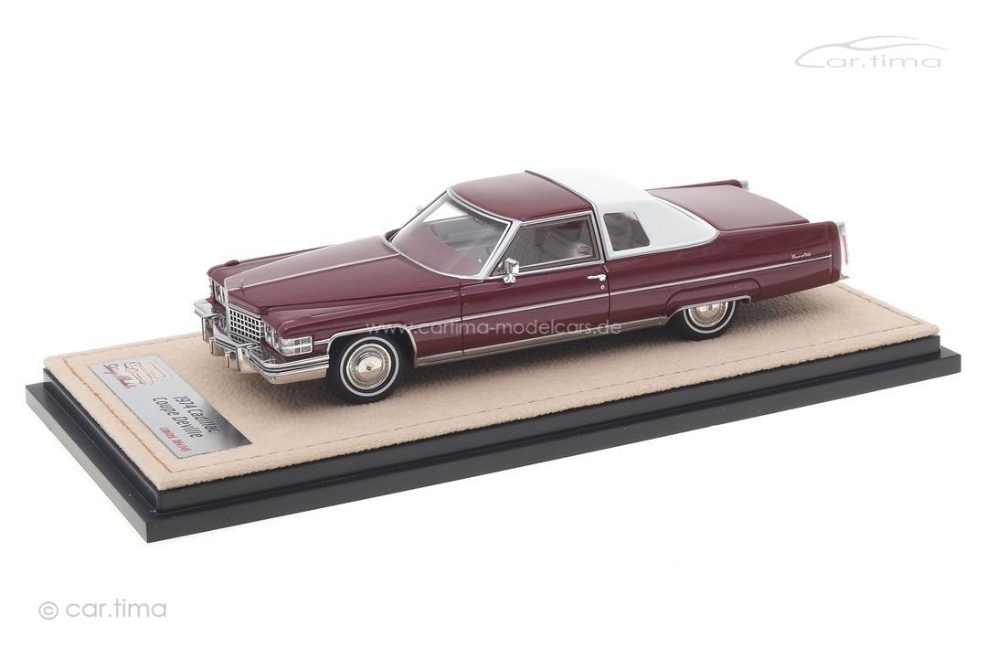 Cadillac Coupe Deville Cranberry met. Stamp Models 1:43 STM74601