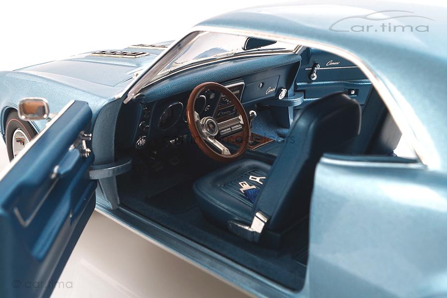 Chevrolet Camaro 1968 Unicorn light blue ACME 1:18 A1805717