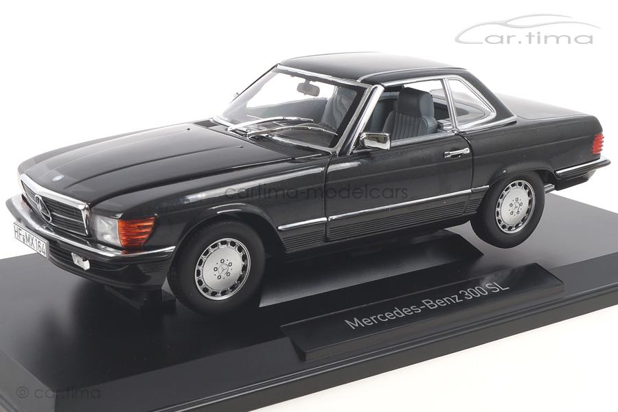 Mercedes-Benz 300 SL (R107) Blauschwarzmet. Norev 1:18 183726