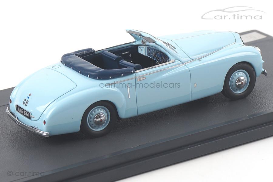 Bristol 400 DHC by Pininfarina 1948 hellblau Matrix Scale Models 1:43 MX40204-101