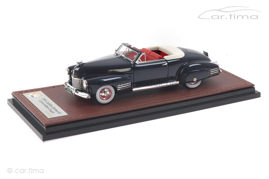 Cadillac Series 62 Convertible Coupe blau GLM 1:43 GLM119701