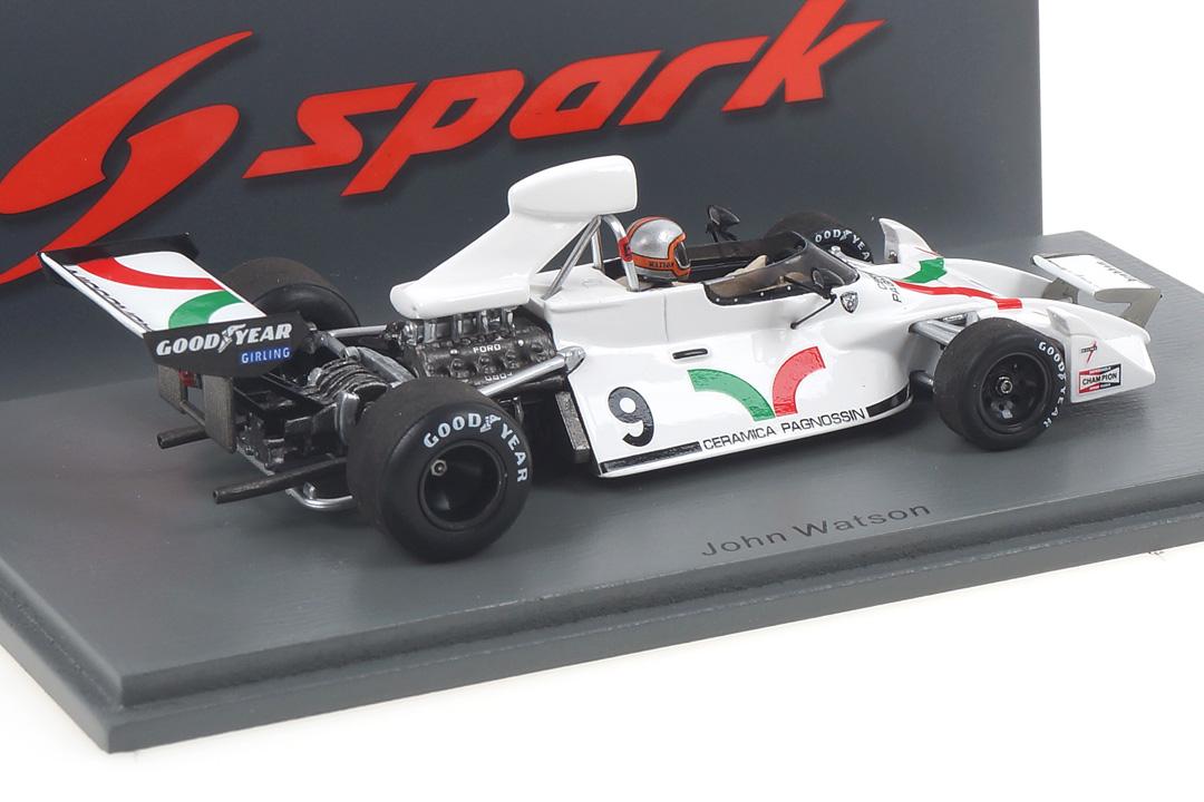 Brabham BT42 US GP 1973 John Watson Spark 1:43 S7094