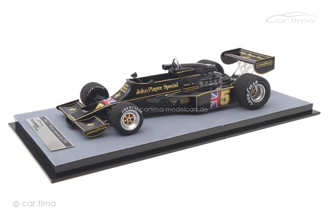 Lotus 77 Winner Japan GP 1976 Mario Andretti Tecnomodel 1:18 TM18-175A