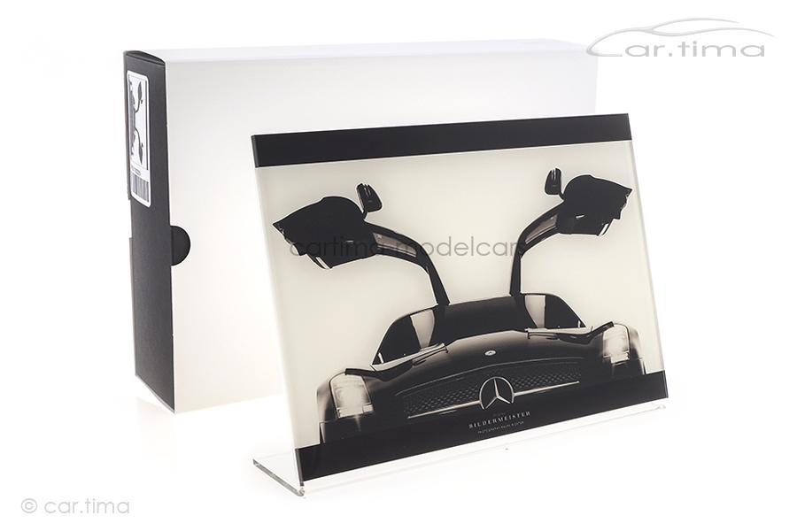 Bildermeister MINIpic Mercedes-Benz SLS AMG 2010 Acrylglas-Aufsteller 14 cm x 20 cm RR21002225