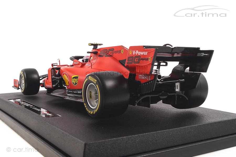 Ferrari SF90 Winner GP Monza 2019 Charles Leclerc Bburago 1:18 18-16810