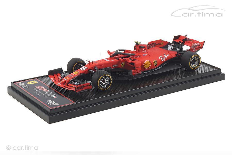 Ferrari SF90 Winner GP Spa 2019 Charles Leclerc BBR 1:43 BBRC231A