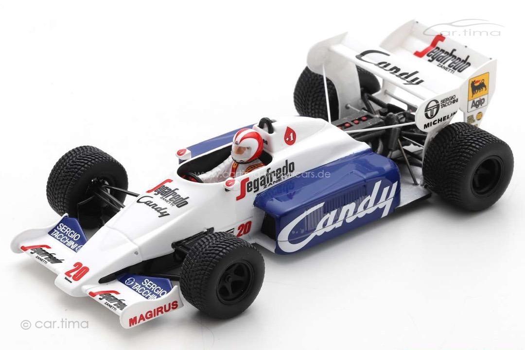 Toleman TG184 GP Monaco 1984 Johnny Cecotto Spark 1:43 S2779