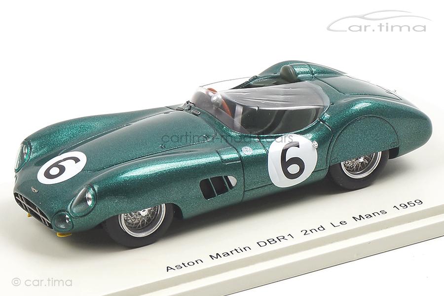 Aston Martin DBR1 24h Le Mans 1959 Trintignant/Frère Spark 1:43 S2439