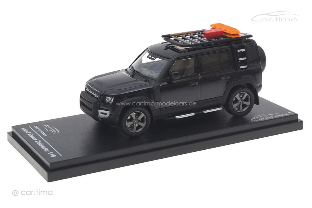 Land Rover Defender 110 2020 Santorini Black Almost Real 1:43 410808