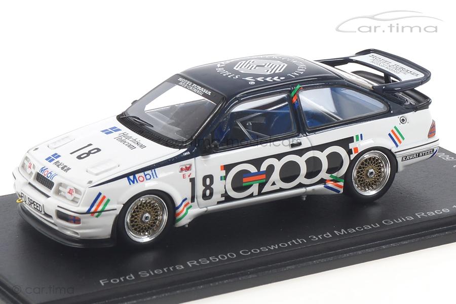 Ford Sierra RS500 Cosworth Macau 1988 Andy Rouse Spark 1:43 SA190