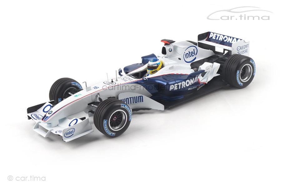 Sauber BMW C24B F1 Test 2006 Nick Heidfeld Minichamps 1:18 100060902