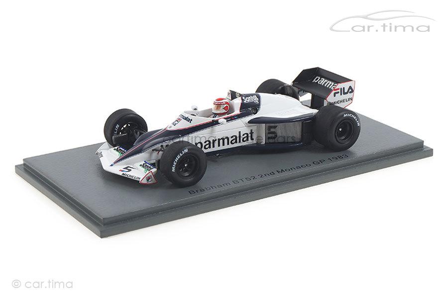 Brabham BT52 Winner GP Brasilien 1983 Nelson Piquet Spark 1:43 S7110