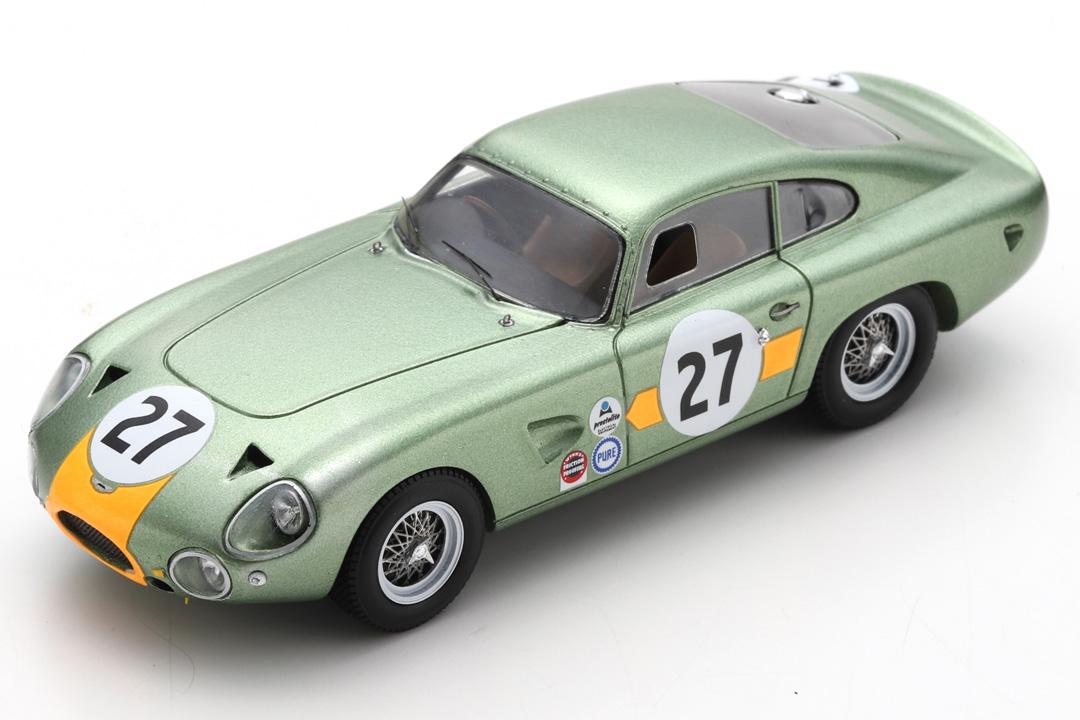 Aston Martin DP214 2000 km Daytona 1964 Hetreed/Kerrison Spark 1:43 S3685