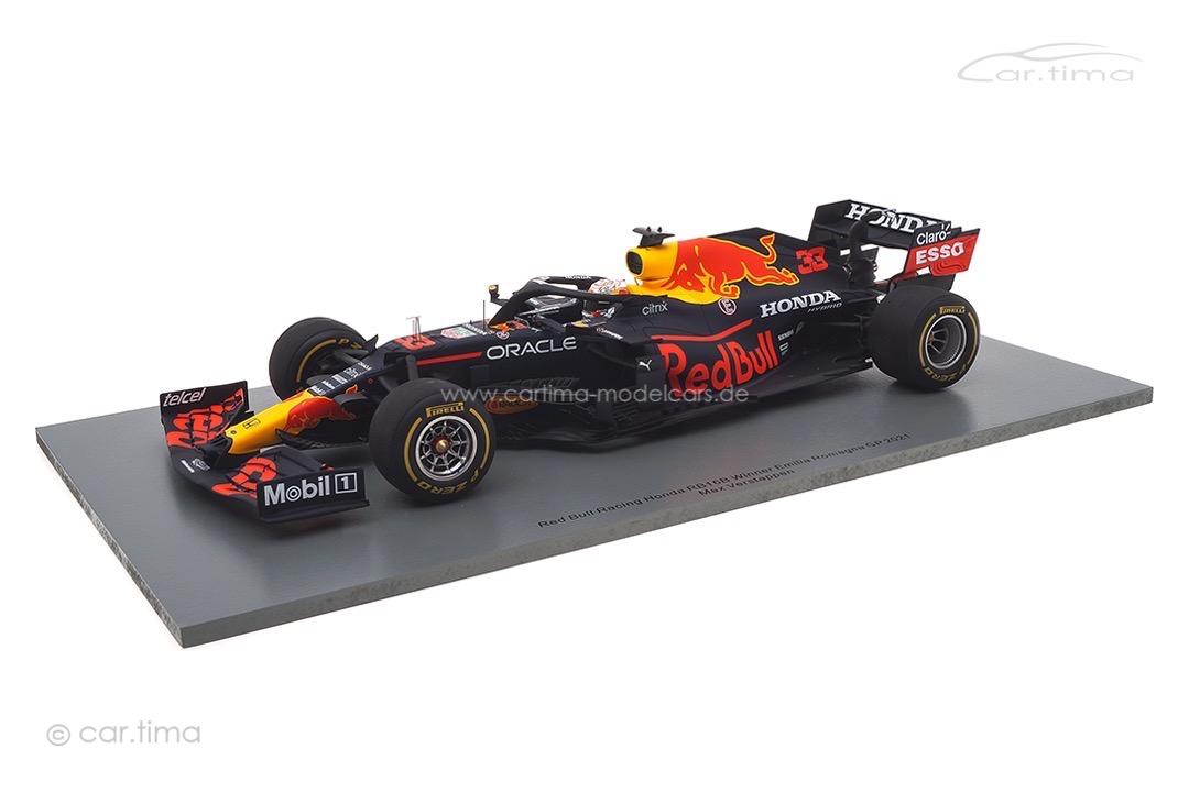 Red Bull Racing Honda RB16B Winner GP Emilia Romagna 2021 Max Verstappen Spark 1:18 18S582