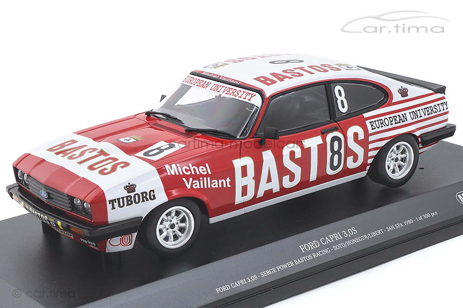 Ford Capri 3.0 24h Spa 1980 Soto/Honeger/Libert Minichamps 1:18 155808608