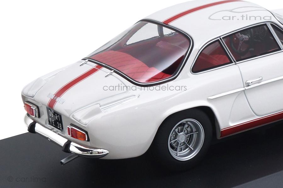 Renault Alpine A110 1600S 1971 weiß/rot Norev 1:18 185303