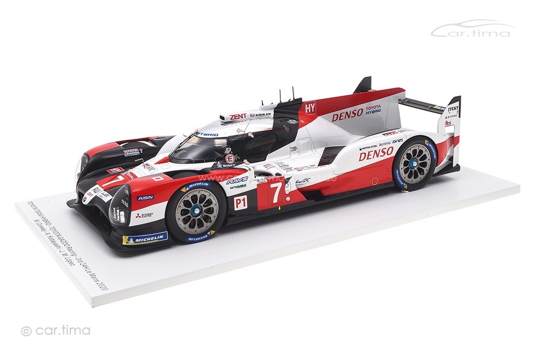 Toyota TS050 Hybrid 24h Le Mans 2020 Conway/Kobayashi/López Spark 1:18 18S549