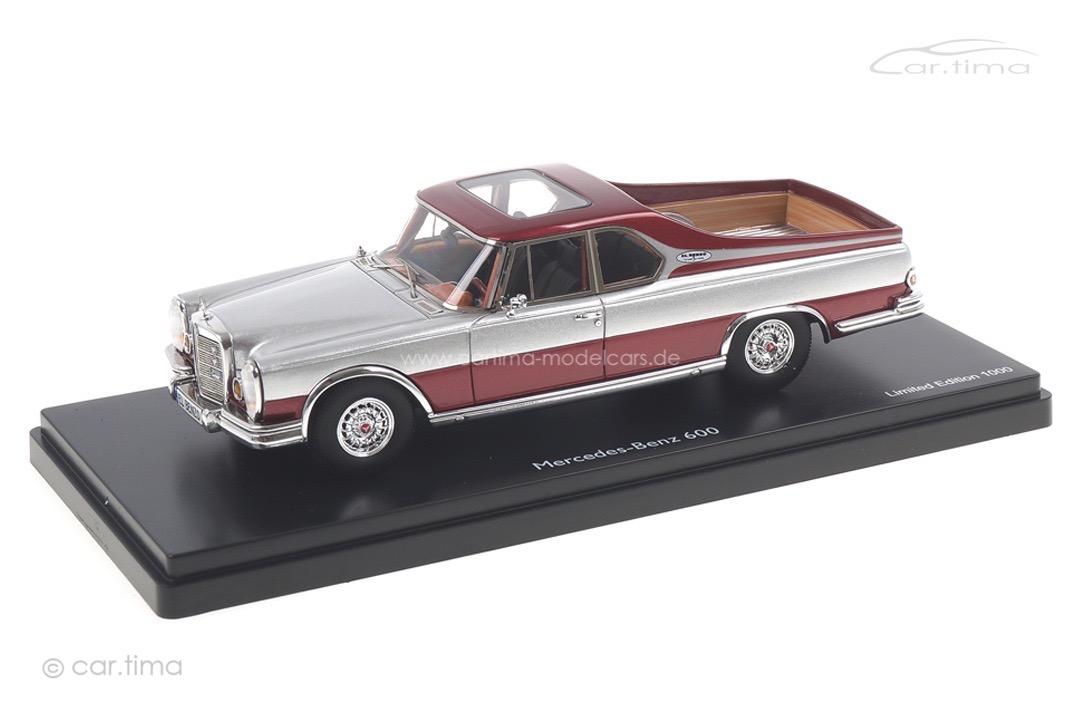 Mercedes-Benz 600 Pick-up Schuco 1:43 450890900