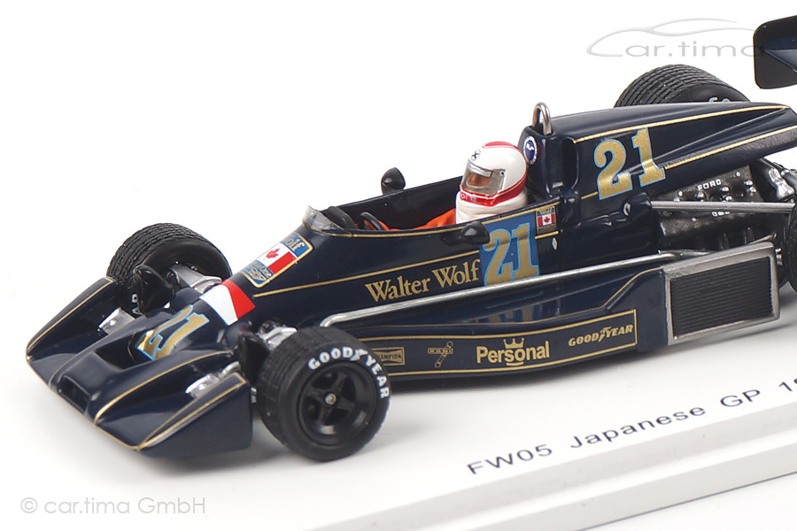 Williams FW05 GP Japan 1976 Hans Binder Spark 1:43 S4048