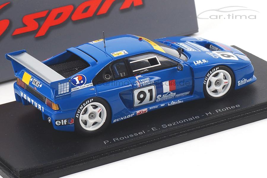 Venturi 500 LM 24h Le Mans 1993 Rohe/Roussel/Sezionale Spark 1:43 S2276