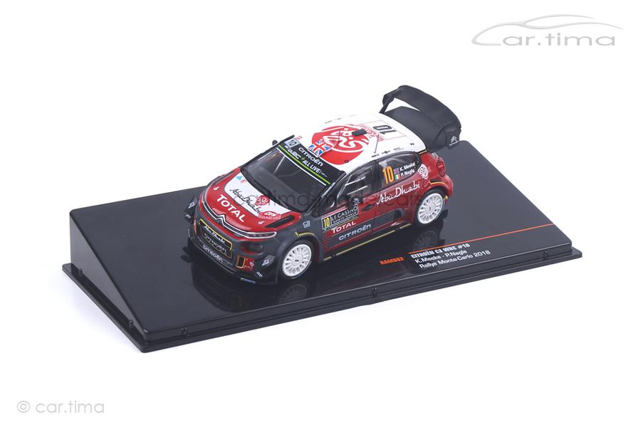 Citroen C3 WRC Rally Monte-Carlo 2018 Meeke/Nagle IXO 1:43 RAM662
