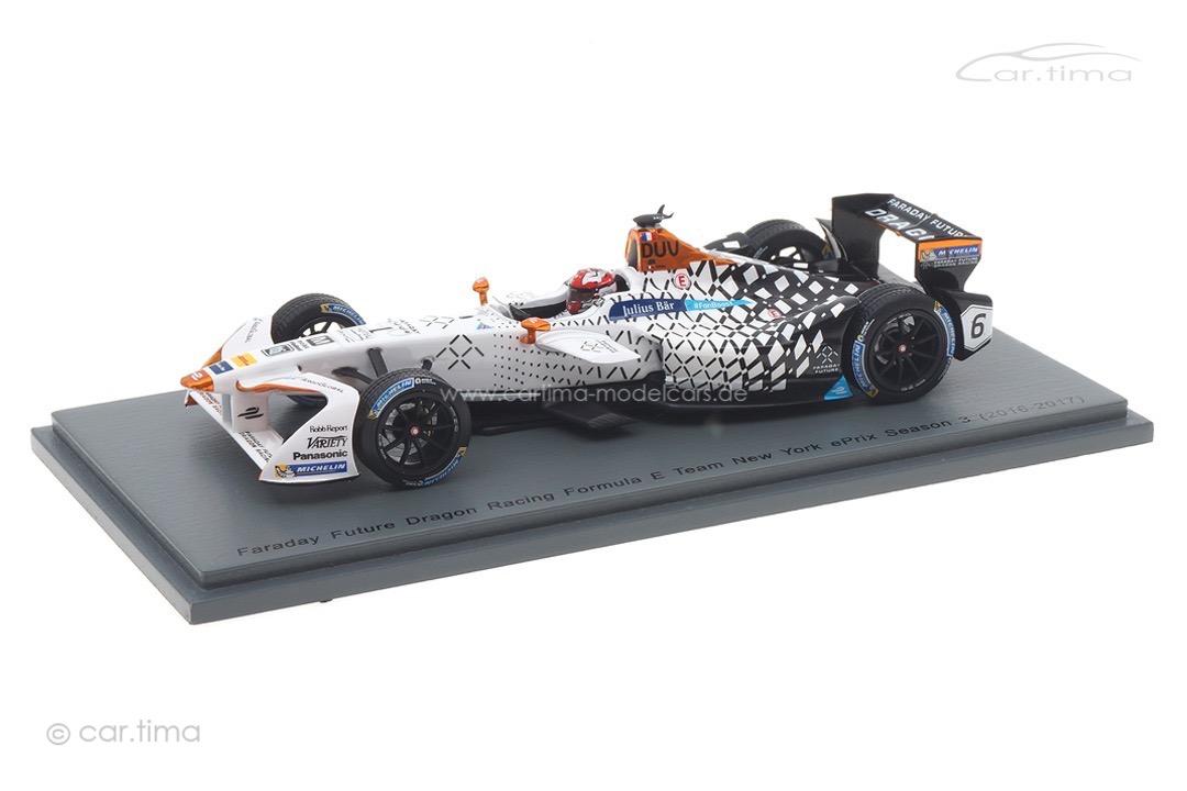 Faraday Future Dragon New York ePrix Season 3 2016-2017 Loic Duval Spark 1:43 S5913
