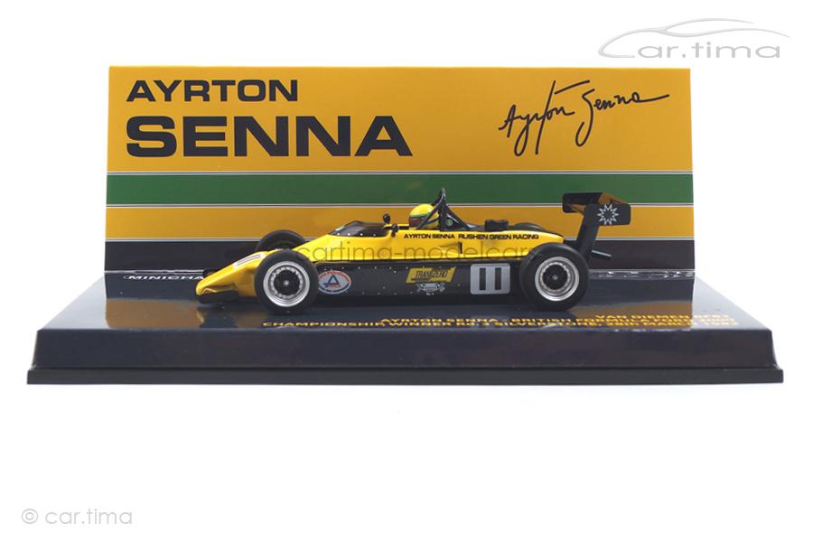 Van Diemen RF82 Winner British Formula Ford 2000 1982 Ayrton Senna Minichamps 1:43 547824311