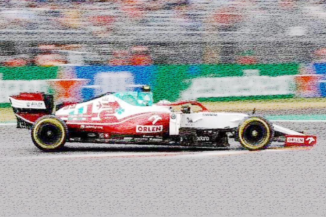 Alfa Romeo Racing Orlen C41 GP Italien 2021 Antonio Giovinazzi Spark 1:18 18S603