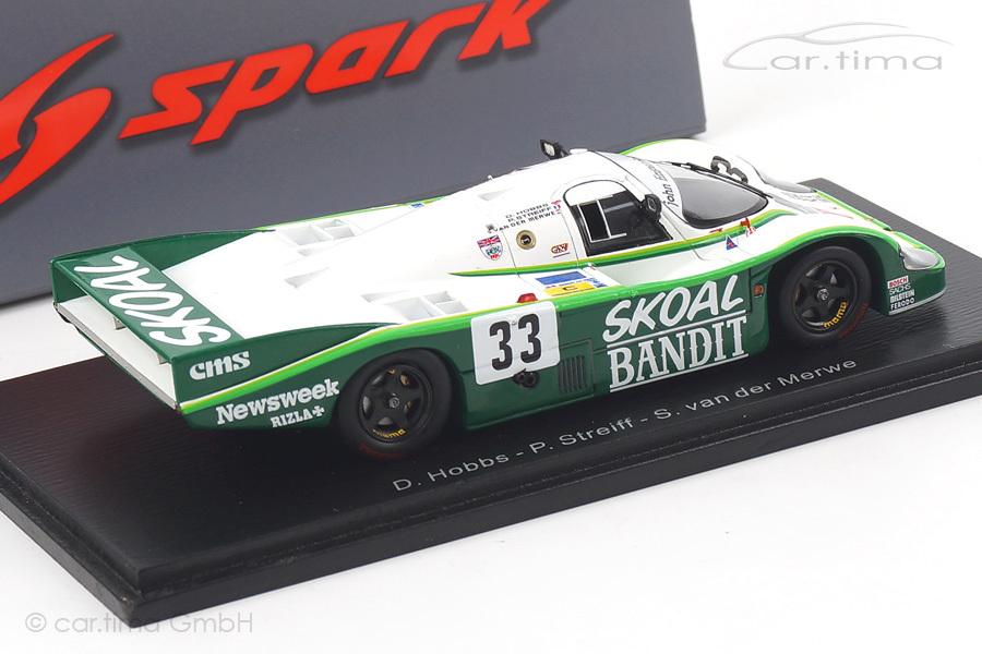 Porsche 956 L 24h Le Mans 1984 Hobbs/Streiff/van der Merwe Spark 1:43 S4172