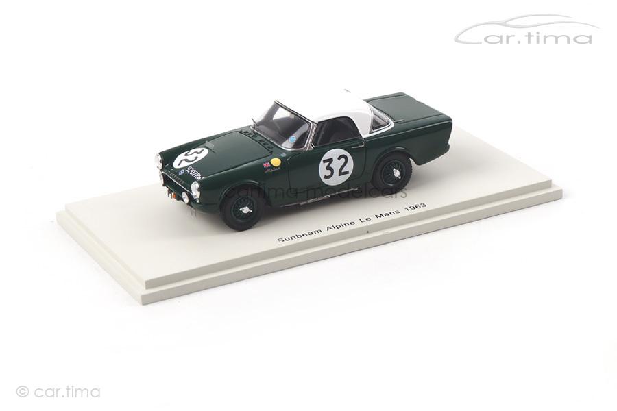 Sunbeam Alpine 24h Le Mans 1963 Ballisat/Lewis Spark 1:43 S4764