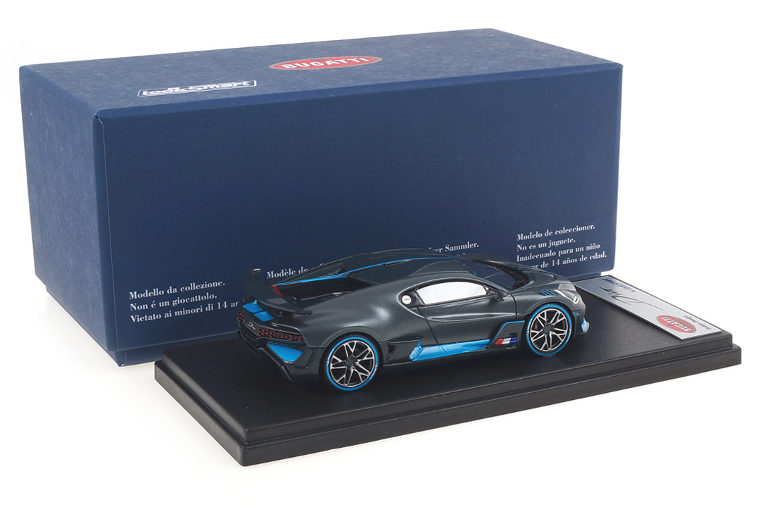 "Bugatti Divo ""The Quail 2018 Configuration"" LookSmart 1:43 LS497A"