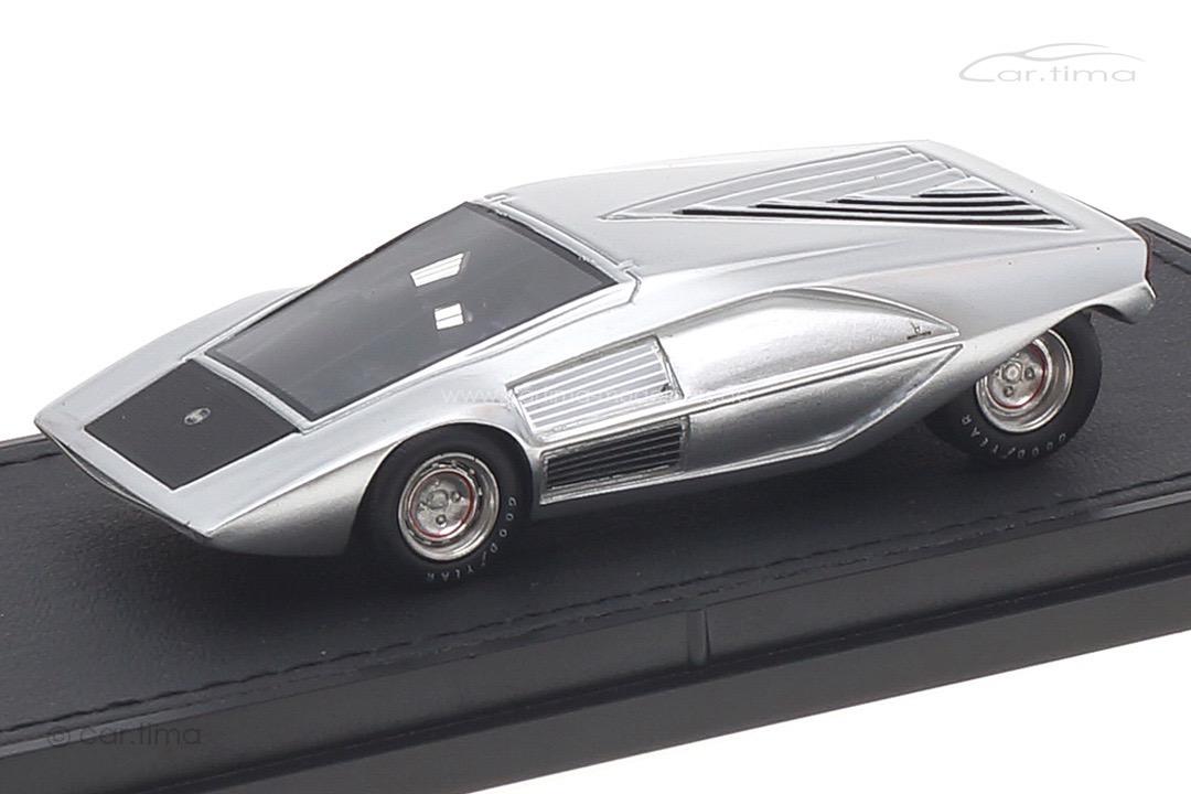 Lancia Stratos Zero Concept silber Top Marques 1:43 TM43-09B