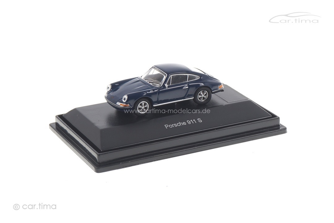 Porsche 911 S Coupe F-Mod. blau Schuco 1:87 452629300