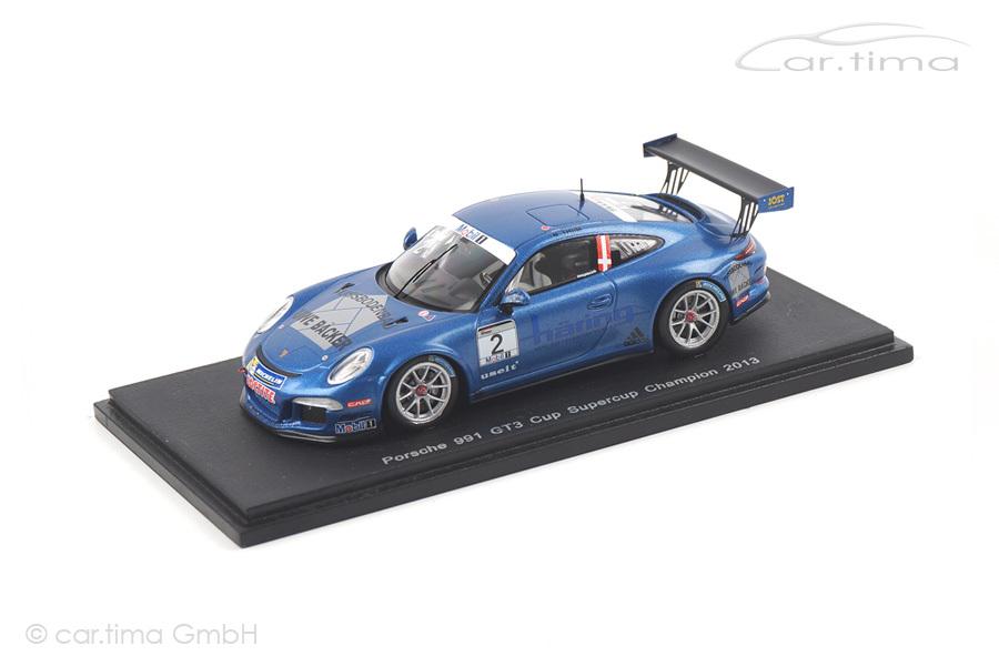Porsche 911 (991) GT3 Cup Supercup Champion 2013 Nicki Thiim Spark 1:43 S4186