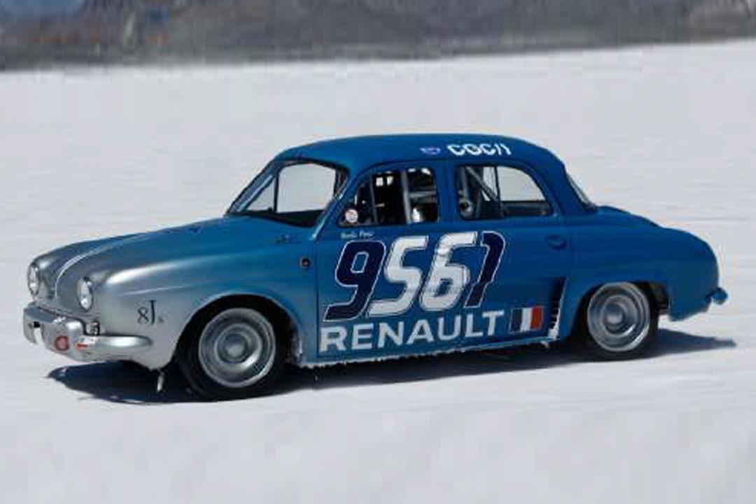Renault Dauphine Bonneville Prost Nicolas 2016 Bizarre 1:43 B1074
