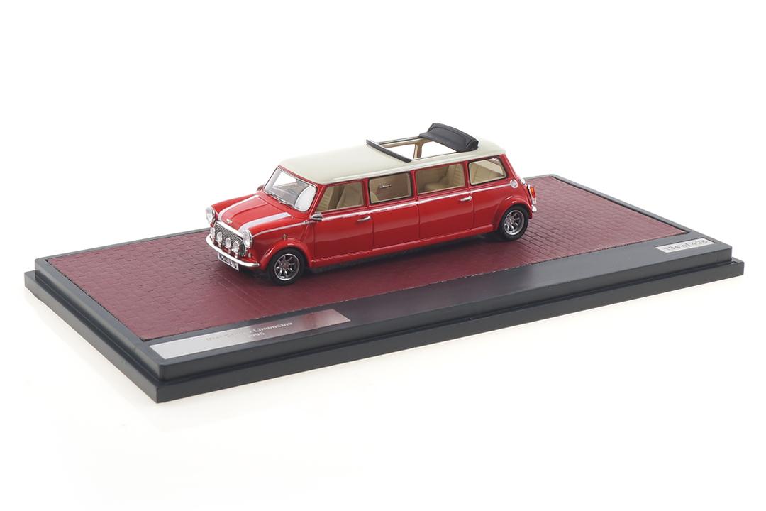 Mini Cooper Limousine weiß/rot Matrix 1:43 MX30110-031