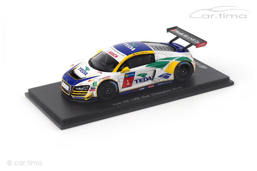 Audi R8 LMS Champion LMS Cup 2015 Alex Yoong Spark 1:43 SA085