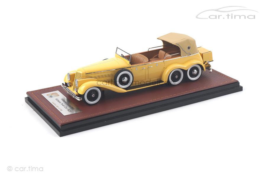 Hispano Suiza H6A Victoria Town Car gelb GLM 1:43 GLM43215001