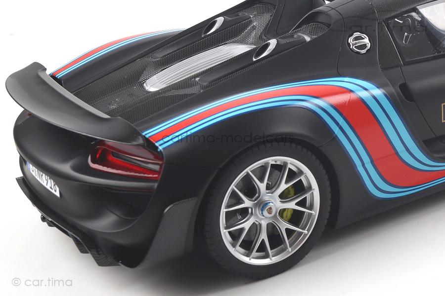 Porsche 918 Spyder Weissach Package Rundenrekord Nürburgring Marc Lieb GT Spirit 1:12 ZM084
