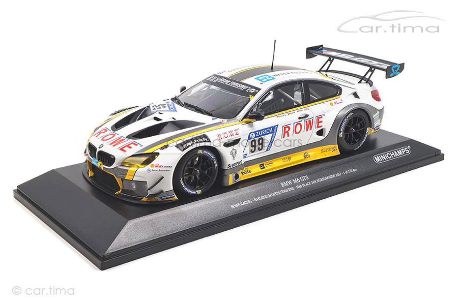 BMW M6 GT3 24h Nürburgring 2017 Eng/Martin/Basseng Minichamps 1:18 155172699